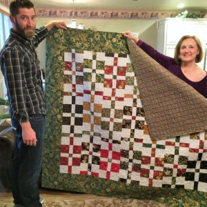 Christmas Quilt for Kyle