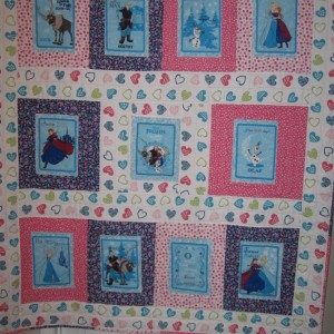 Frozen Quilt for my Niece