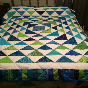 Abby's Graduation Quilt