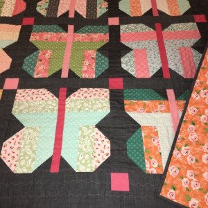 Butterfly Strip Quilt