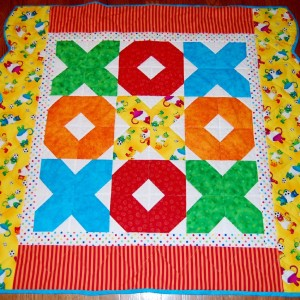 X's and O'x Baby Quilt