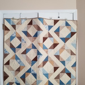 Fresh Diamonds II--Comfort Quilt