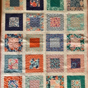 Framed Squares Quilt 1 of 2
