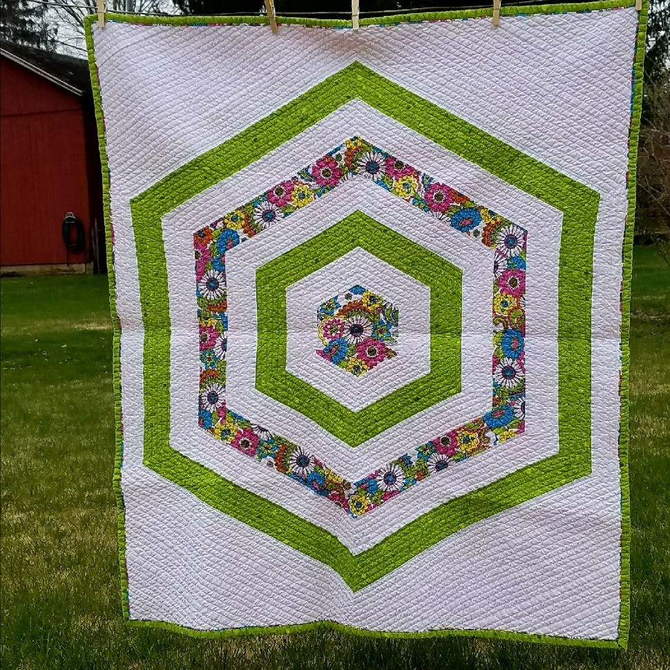 Hexie Echo Quilt