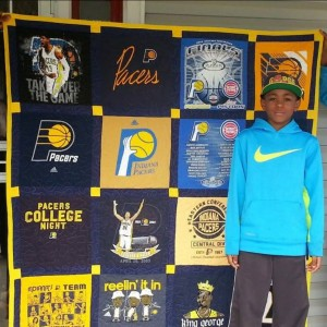 My First Tee Shirt Quilt