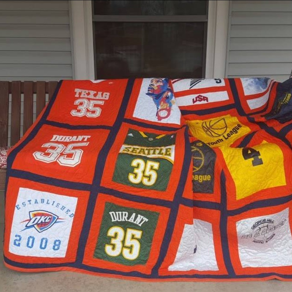 One-of-a-Kind Tee Shirt Quilt!