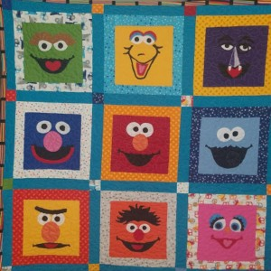 I love Baby Quilts...and Sesame Street!