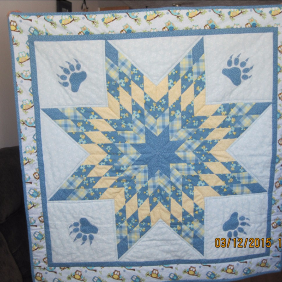 Baby Lone Star Quilt