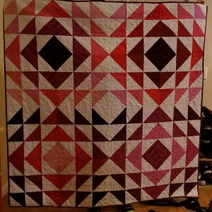Quilt #2: Red Tranquility