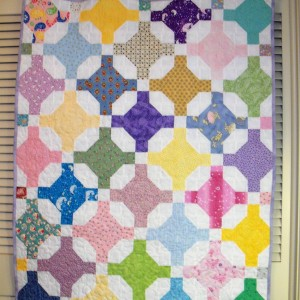Jcy's Trellis Quilt with a Twist