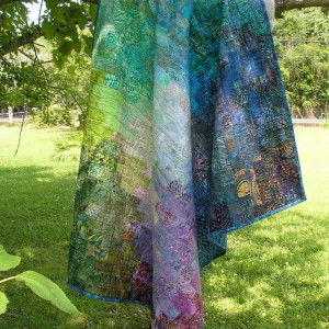 Batik Color Wash Quilt