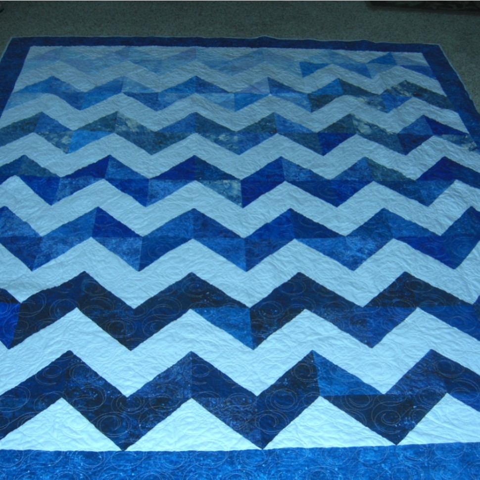 Lakeside Chevron Quilt