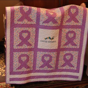 Charity Auction Quilt for Camp Kesem