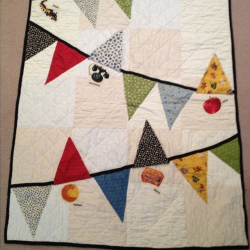 Pennant quilt modified