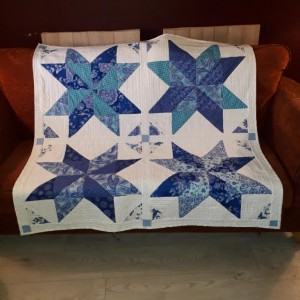 Quilted Sheila's Stars