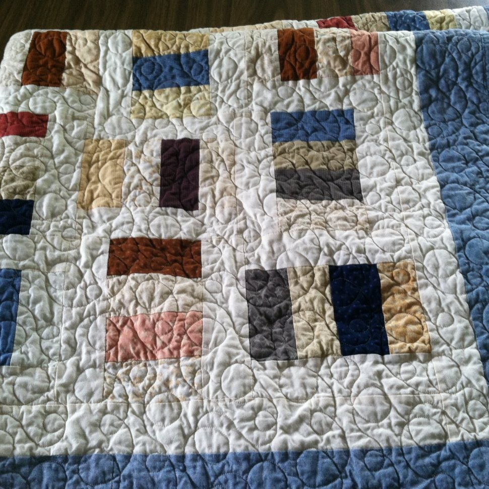 Wedding quilt for nephew