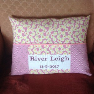 Book Pillow For My 2nd Granddaughter