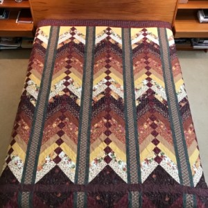 Master Bedroom Bed Quilt
