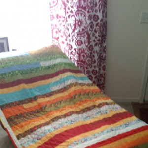 First Jelly Road Quilt