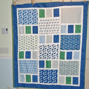 Baby Boy quilt for new nephew