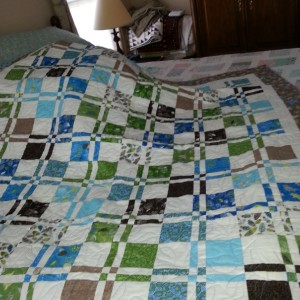 Baby Girl Quilt + doll quilt