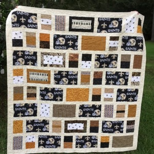 Saints Quilt for Benefit