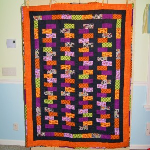 Halloween Zipper Quilt