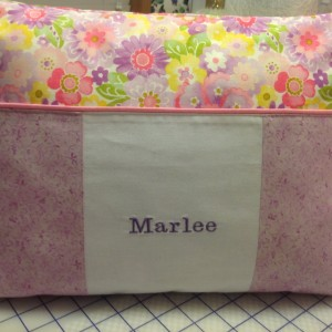 Marlee's Book Pillow