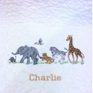Charlie's baby quilt