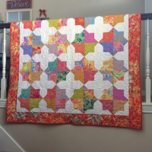A Quilt for GG Janet