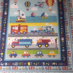Off We Go Baby Quilt