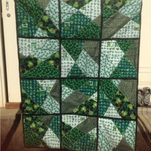 Irish Quilt for Matt