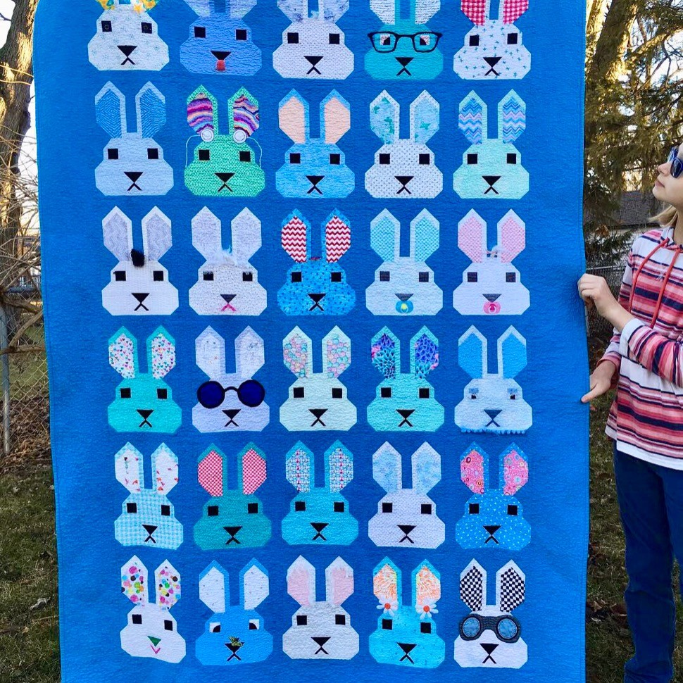 Claire's Bunny Quilt