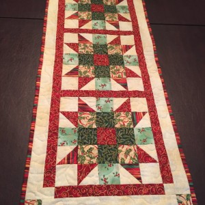 Christmas Sister's Choice table runner