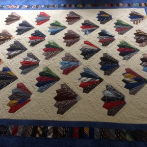 Dad's Neckties Quilt