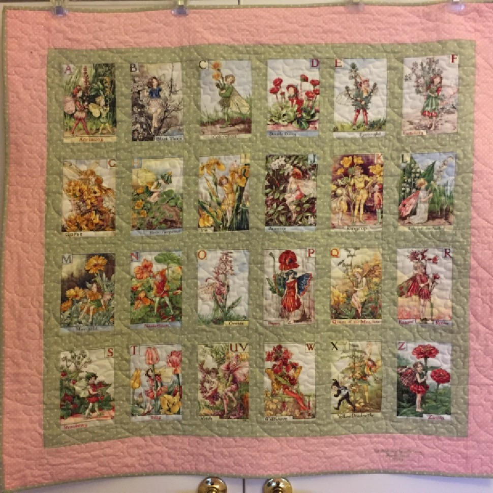 Flower Fairies Quilt