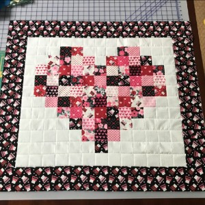 Hello sweetheart quilt