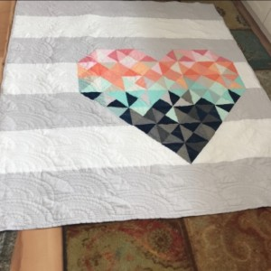 Piece & Love Solids Day Dream Quilt Kit