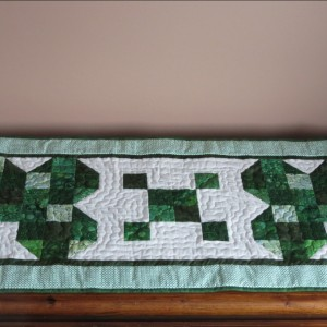St. Patrick's Day Table Runner