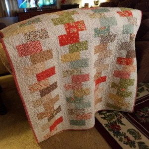 Strawberry Fields Quilt Throw