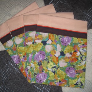 Peggy's 3 Sets of Pillowcases