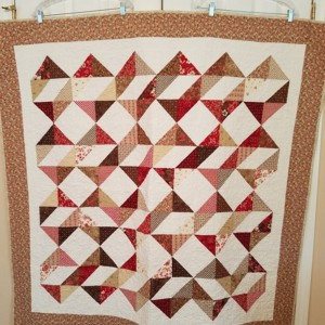 Ribbon Dance Quilt