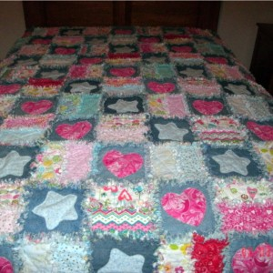 Daddy Mike in Heaven Quilt