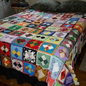 King Size Fun and Done Quilt Pattern