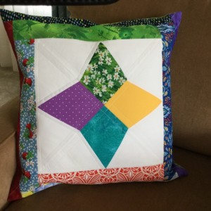 Scrap Pillow Cover