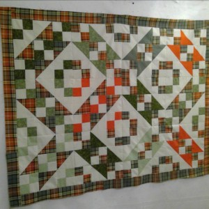 Jacob's Ladder memory quilt (1 of 6)