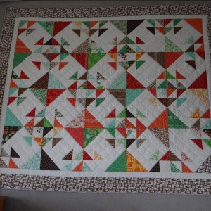 Sweet Treats Quilt using Farm Fun design by Moda