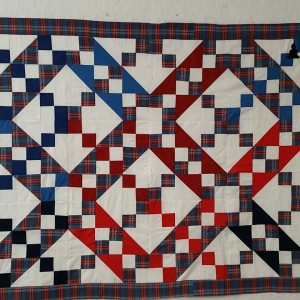 JACOB'S LADDER MEMORY QUILT (3 OF 6)