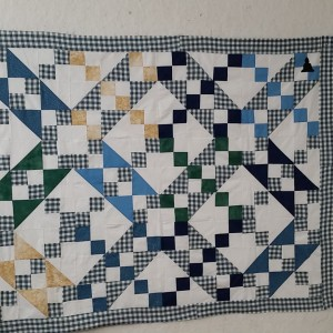 JACOB'S LADDER MEMORY QUILT (6 OF 6)
