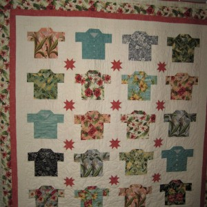Peggy's Quilt #31 - Hawaiian Shirt Quilt